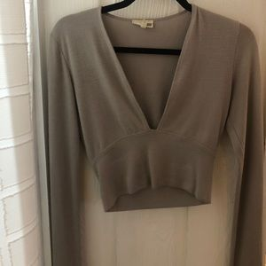 Wilfred crop top - size small